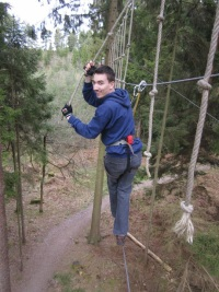 George at Go Ape!